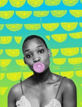 ON Purpose; Photography by Mark Clennon, Artwork by Lakiesha Herman