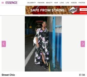 Essence Street Style