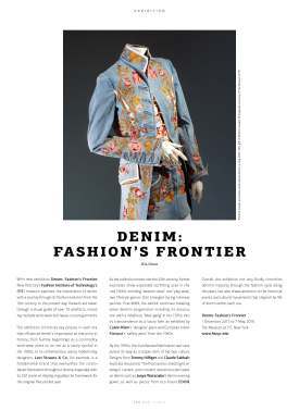 WeAr 45, Exhibit, Denim: Fashion's Frontier