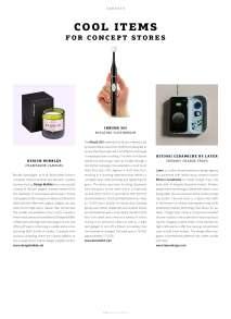 WeAr 48, Cool Items for Concept Stores: iBrush365, Bitossi Ceramiche