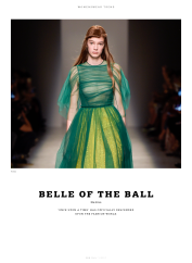"WeAr 49 (1/17): Womenswear Trend, ""Belle of the Ball"""
