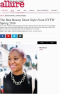 Allure.com, Best Beauty Street Style