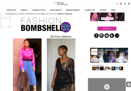 Fashion Bomb Daily, Fashion Bombshell of the Day