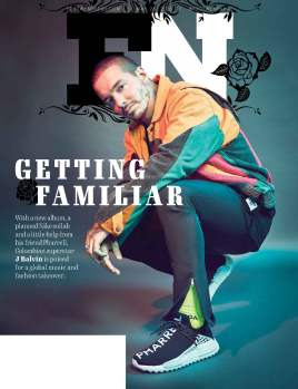 Footwear News 5.28.18 Issue; J Balvin Cover (Fash. Asst.)