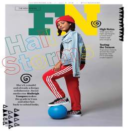 "Footwear News 7.9.18 Issue; ""The New School"" featuring Haileigh Vasquez, Fashion Assistant"