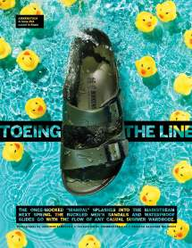 """FN 8.6.18; """"Toeing the Line"""""""